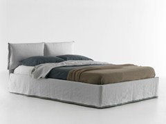 - Double bed with removable cover IORCA CHIC - Bolzan Letti