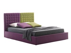 - Double bed with tufted headboard POISSY COLOR - Bolzan Letti