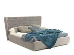 - Double bed with tufted headboard SELENE - Bolzan Letti