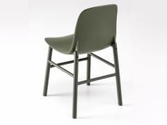 - Polyurethane chair SHARKY ALU - Kristalia