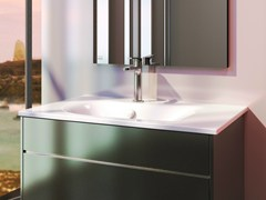 - Ceramic washbasin IMPRONTA 80 - CERAMICA CATALANO