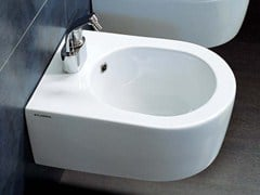 - Wall-hung ceramic bidet MINI LINK | Wall-hung bidet - CERAMICA FLAMINIA