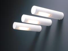 - Direct light satin glass wall lamp OZEN | Satin glass wall lamp - Boffi