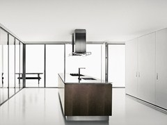 - Folding glass partition wall ANTHEA | Glass partition wall - Boffi