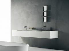 - Wall-mounted Corian® vanity unit DUEMILAOTTO | Corian® vanity unit - Boffi