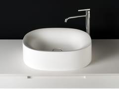 - Oval Cristalplant® washbasin SABBIA | Countertop washbasin - Boffi