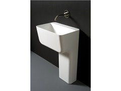 - Cristalplant® washbasin VOL | Washbasin - Boffi