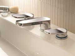 - 3 hole countertop washbasin tap LEVANTE | 3 hole washbasin tap - Fantini Rubinetti