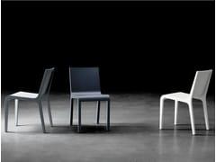 - Lacquered oak chair FOGLIA | Lacquered chair - BILLIANI