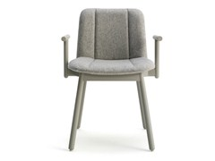 - Fabric chair with armrests HIPPY | Chair with armrests - BILLIANI