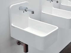 - Wall-mounted ceramic handrinse basin MINIWASH | Handrinse basin - CERAMICA FLAMINIA