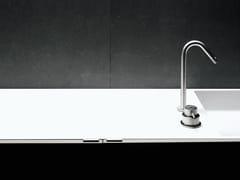 - Stainless steel washbasin tap MINIMAL | Washbasin tap - Boffi