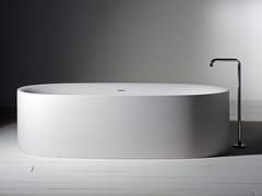 - Freestanding Cristalplant® bathtub SABBIA | Bathtub - Boffi