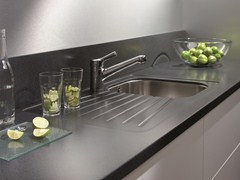 TOP CUCINA / LAVELLO IN SOLID SURFACE GETACORE® | LAVELLO A UNA VASCA - GETACORE® BY WESTAG & GETALIT