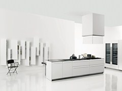 - Corian® kitchen with island APRILE - Boffi