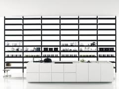 - Linear Corian® kitchen K20 - Boffi