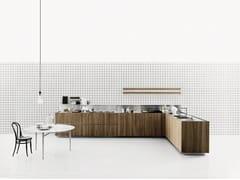- Wood veneer kitchen K20 - Boffi