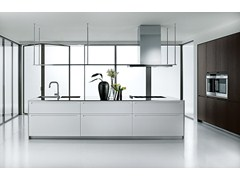- Lacquered kitchen with island LT - Boffi