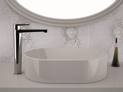 - High basin mixer without pop-up waste DREAM | Washbasin mixer without waste - Remer Rubinetterie