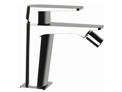 - Single-lever bidet mixer without pop-up waste DREAM | Bidet mixer without waste - Remer Rubinetterie