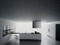 - Lacquered kitchen with peninsula XILA ST - Boffi