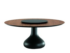 - Round wooden table BORA BORA - Cattelan Italia
