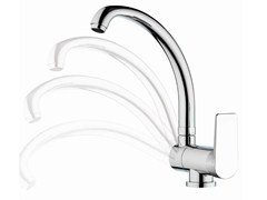 - Single-lever sink mixer with high movable spout DREAM | Kitchen mixer tap - Remer Rubinetterie