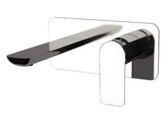 - Wall-mounted single handle washbasin mixer INFINITY | Wall-mounted washbasin mixer - Remer Rubinetterie
