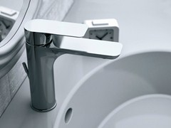 - Single handle washbasin mixer INFINITY | Single handle washbasin mixer - Remer Rubinetterie