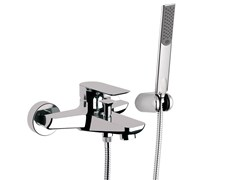 - Single handle bathtub mixer with hand shower INFINITY | Bathtub mixer - Remer Rubinetterie