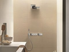 - Thermostatic shower mixer with plate MILANO - D213A/7313B - Fantini Rubinetti
