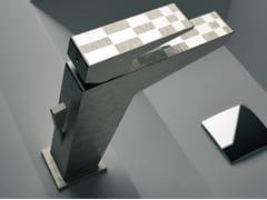 - Single-lever basin mixer with pop-up waste SPEED DEKORA | Washbasin mixer - Daniel Rubinetterie