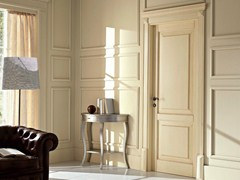 - Hinged lacquered solid wood door 110 E LODE | Lacquered door - GAROFOLI