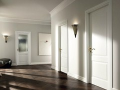 - Hinged lacquered solid wood door MIRABILIA | Hinged door - GAROFOLI