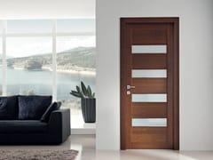 - Hinged solid wood door GAVISIO | Oak door - GAROFOLI