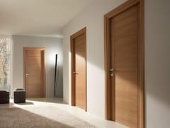 - Hinged solid wood door PANGEA | Oak door - GAROFOLI