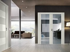 - Hinged glass door GABILIA | Glass door - GAROFOLI