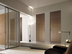 - Screen printed glass pocket sliding door GDESIGNER | Pocket sliding door - GAROFOLI