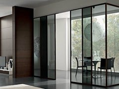 - Glass sliding door GDESIGNER | Sliding door - GAROFOLI