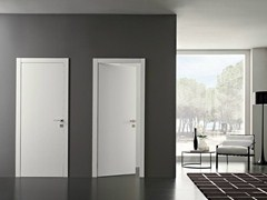 - Hinged lacquered wooden door POEMA | Lacquered door - GAROFOLI