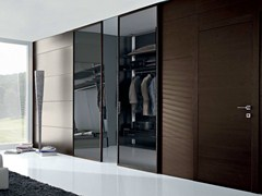 - Hinged wenge door POEMA | Wenge door - GAROFOLI