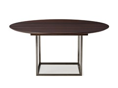 - Extending round oak table JEWEL TABLE | Round table - dk3
