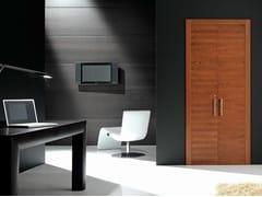 - Wooden pocket sliding door QUARANTA | Pocket sliding door - GAROFOLI