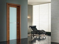 - Hinged screen printed glass door QUARANTA | Glass door - GAROFOLI