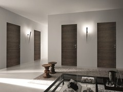 - Hinged flush-fitting wooden door BISYSTEM | Flush-fitting door - GAROFOLI
