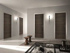 - Hinged wooden door BISYSTEM | Wooden door - GAROFOLI