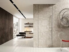 - Flush-fitting cement pivot door FILOMURO | Cement door - GAROFOLI