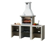 - Gas outdoor kitchen with Barbecue MELODY 3 Yung - Sunday
