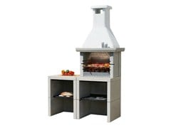 - Outdoor kitchen with Barbecue MELODY 2 Yung - Sunday