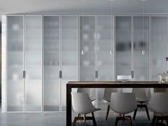 - Satin glass cabinet door MIRIA GLASS | Satin glass cabinet door - GAROFOLI